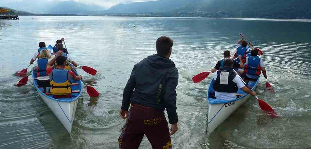 canoë lac du bourget