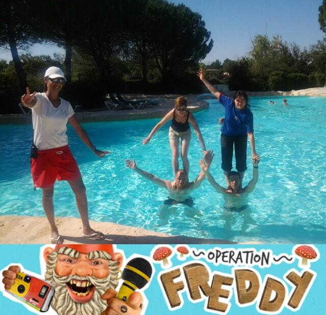 opération freddy piscine