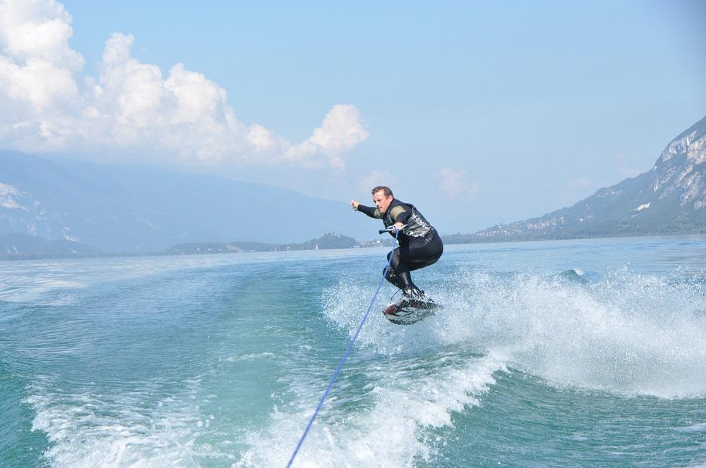 ski nautique lac du bourget
