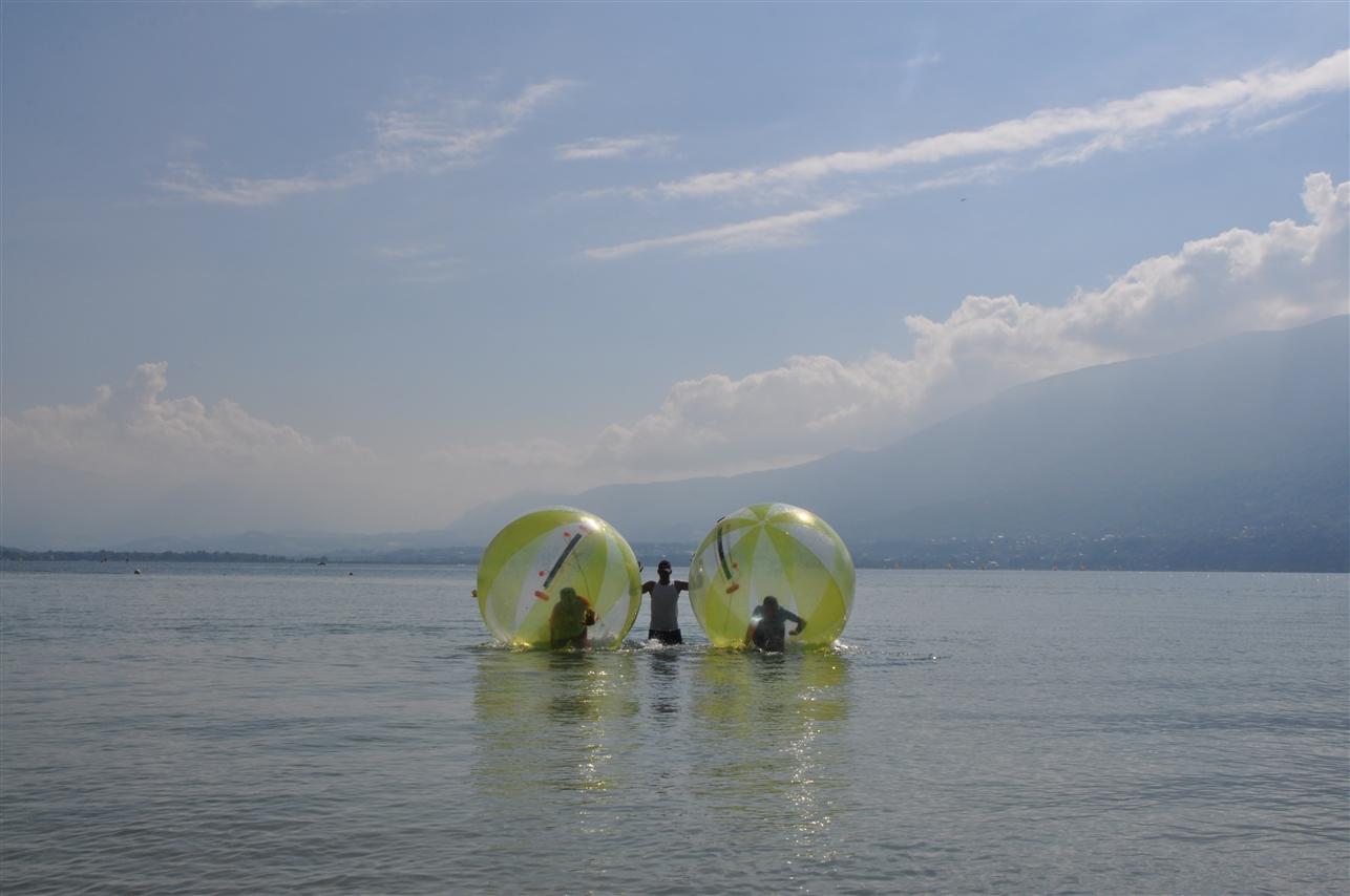 water ball lac du bourget