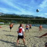 beach party volley