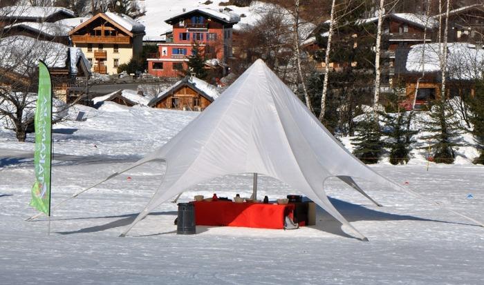 challenge des neige tipi