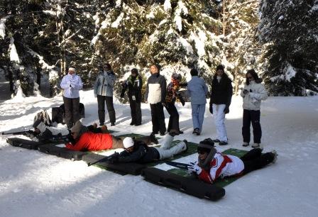biathlon laser challenge des neige