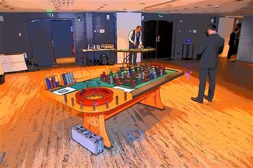 triche et casino table