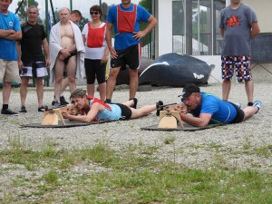 tir à la carabine seminaire lac du bourget